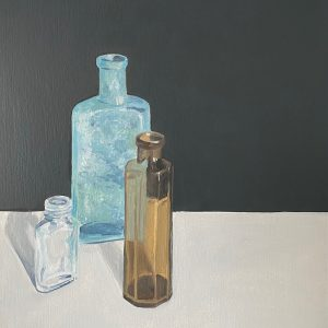 still life with bottle V