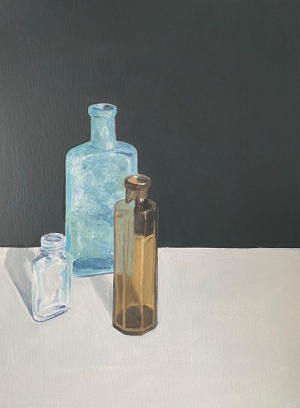 still life with bottle V