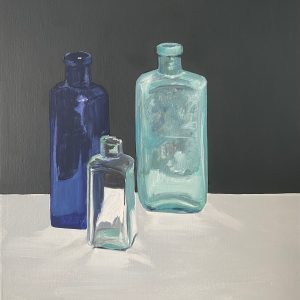 still life with bottle VI