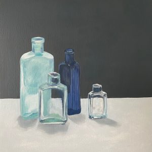 still life with bottle VII