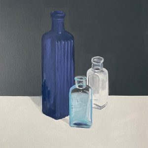 still life with bottle VIII