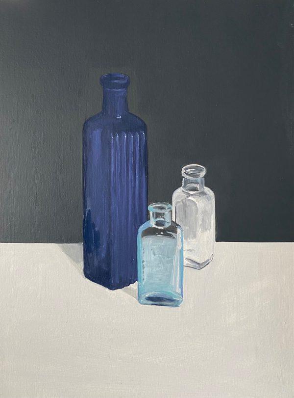 still life with bottle VIII